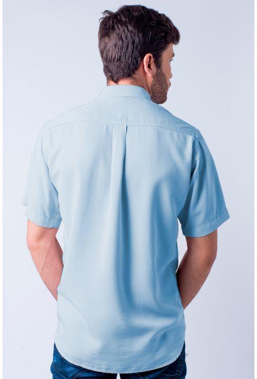 Camisa-casual-masculina-tradicional-tencel-azul-medio-f06020a-1