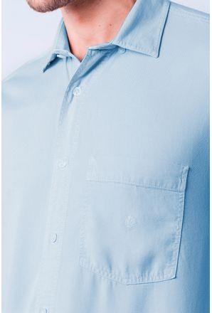 Camisa-casual-masculina-tradicional-tencel-azul-medio-f06020a-3