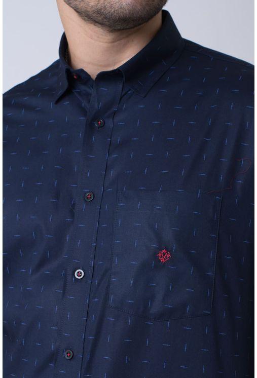 Camisa-casual-masculina-tradicional-algodao-fio-40-azul-escuro-f01863a-3