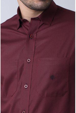 Camisa-casual-masculina-tradicional-algodao-fio-40-bordo-f01862a-3