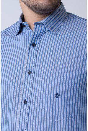 Camisa-casual-masculina-tradicional-algodao-fio-50-azul-escuro-f01397a-3