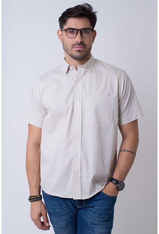 Camisa-casual-masculina-tradicional-algodao-fio-40-marrom-r09903a-1