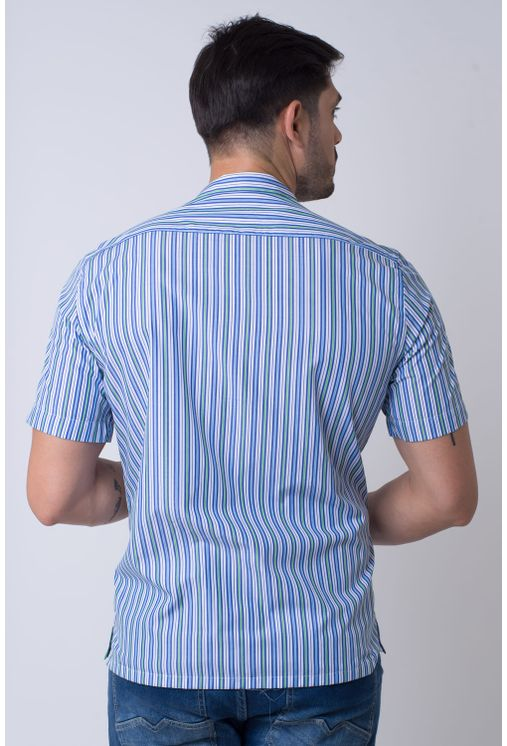 Camisa-casual-masculina-tradicional-algodao-fio-60-azul-f01506a-2