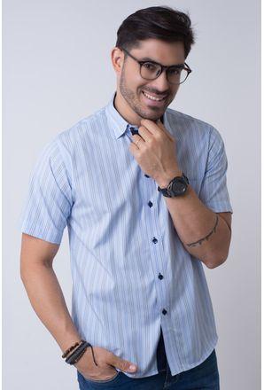 Camisa-casual-masculina-tradicional-algodao-fio-50-azul-f01463a-1