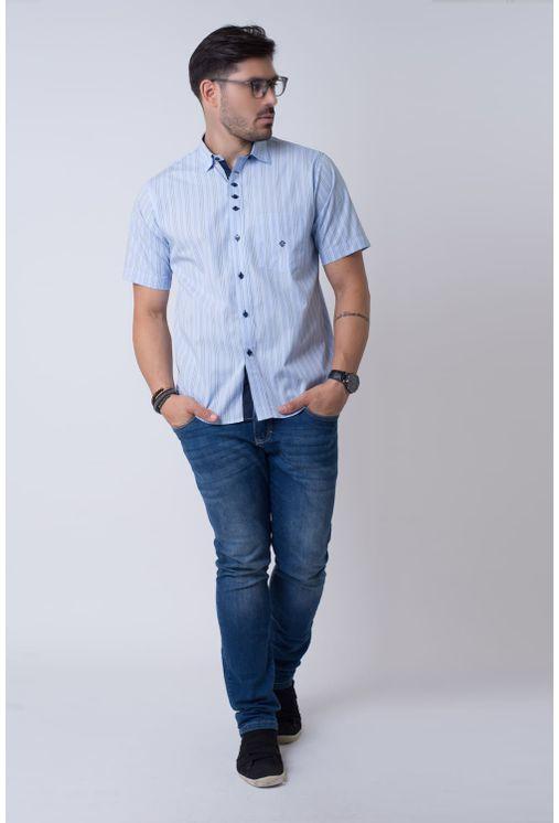 Camisa-casual-masculina-tradicional-algodao-fio-50-azul-f01463a-4