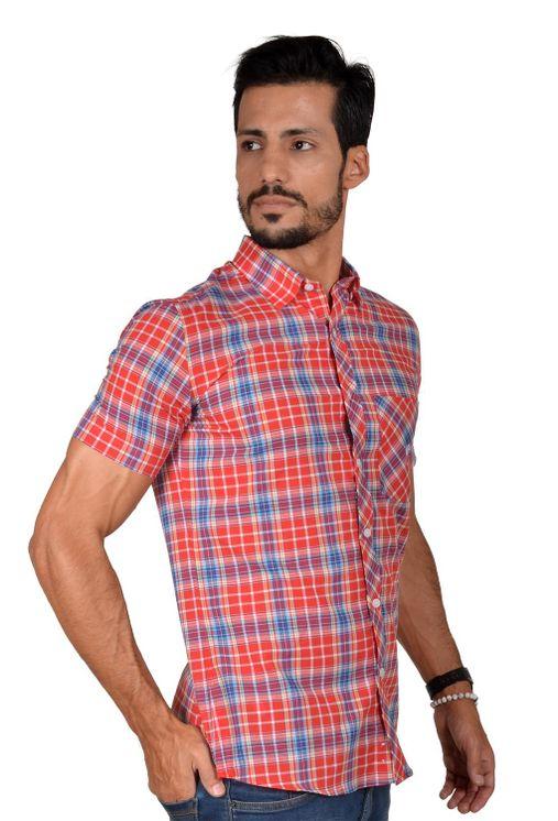 Camisa-casual-masculina-slim-algodao-fio-50-vermelho-f01357s-5