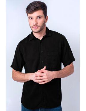 7f02893de5 Camisaria Fascynios Oficial · Camisa Casual Masculina · Tencel. Camisa  casual masculina tradicional tencel preto f06020a 01 ...