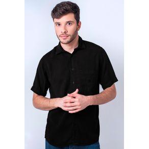 Camisa-casual-masculina-tradicional-tencel-preto-f06020a-1