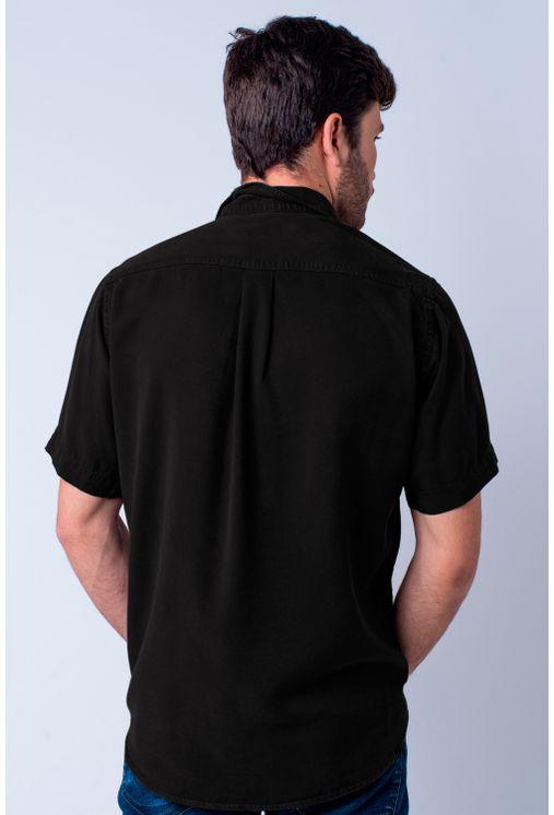 Camisa-casual-masculina-tradicional-tencel-preto-f06020a-2