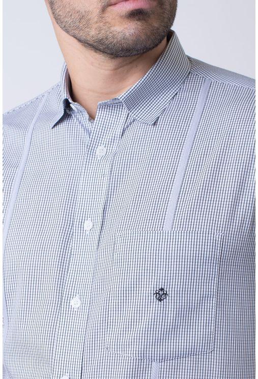 Camisa-casual-masculina-tradicional-algodao-fio-60-preto-f01381a-1