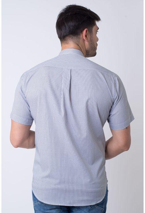 Camisa-casual-masculina-tradicional-algodao-fio-60-preto-f01381a-2