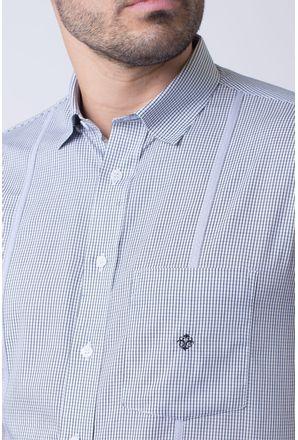 Camisa-casual-masculina-tradicional-algodao-fio-60-preto-f01381a-3