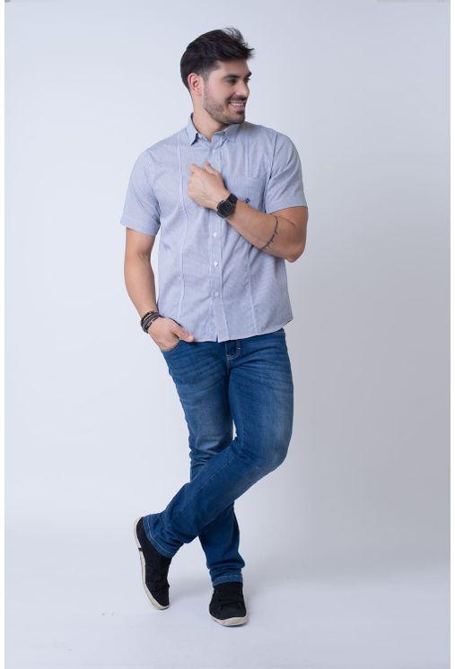 Camisa-casual-masculina-tradicional-algodao-fio-60-preto-f01381a-4