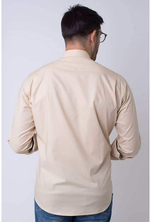 Camisa-casual-masculina-tradicional-algodao-fio-50-bege-f01943a-2