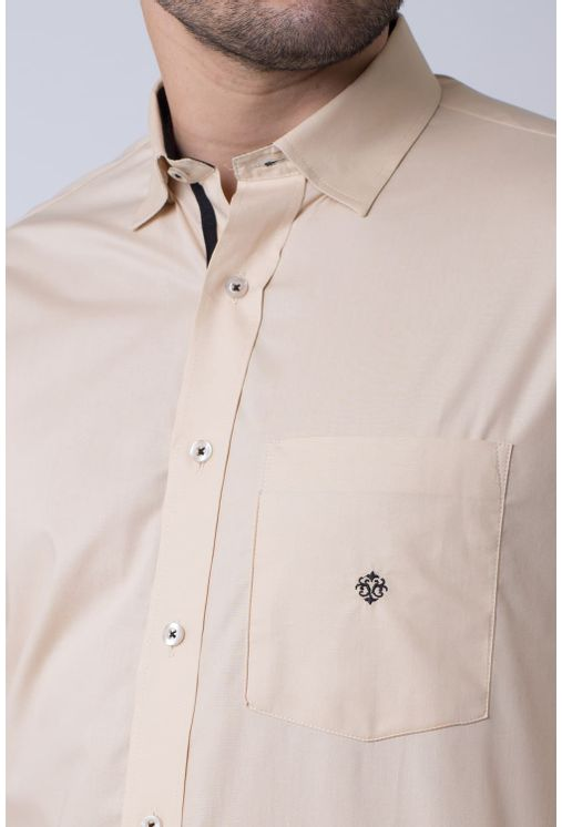 Camisa-casual-masculina-tradicional-algodao-fio-50-bege-f01943a-3