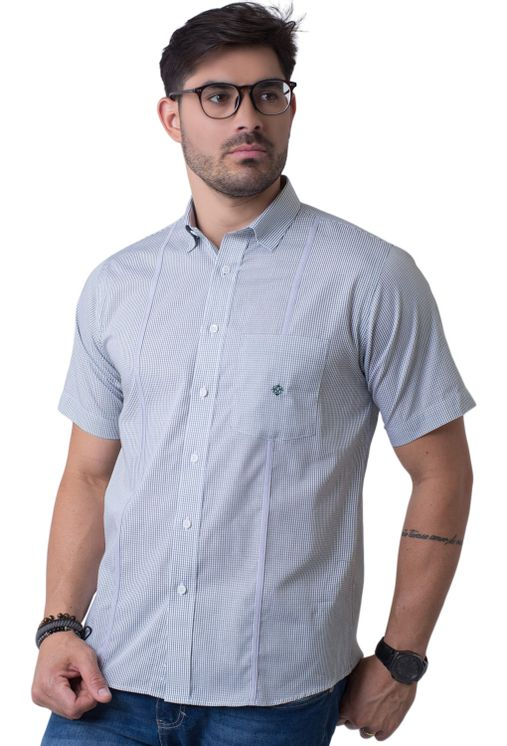 Camisa-casual-masculina-tradicional-algodao-fio-60-verde-f01381a-5