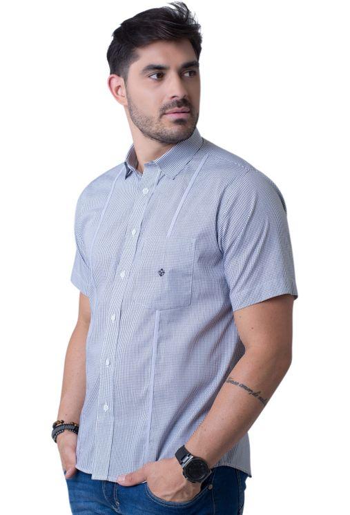 Camisa-casual-masculina-tradicional-algodao-fio-60-preto-f01381a-5