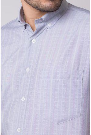 Camisa-casual-masculina-tradicional-microfibra-cinza-f07524a-3