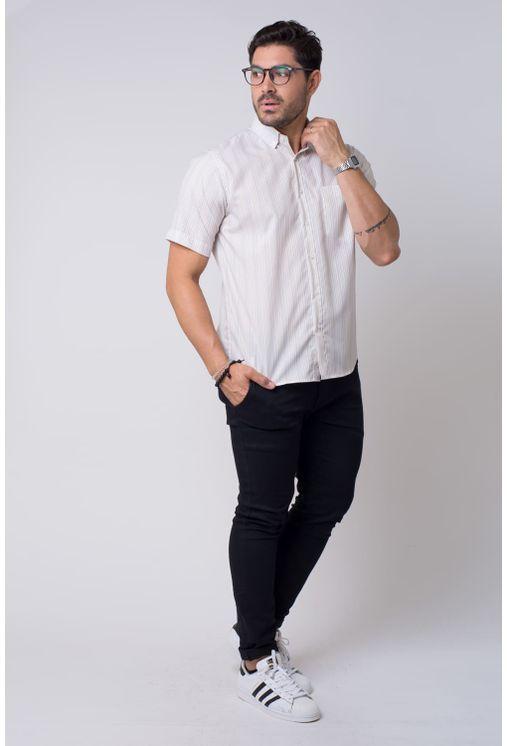 Camisa-casual-masculina-tradicional-microfibra-bege-f07524a-1
