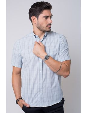 Camisaria Fascynios Oficial · Camisa Casual Masculina · Microfibra. Camisa  casual masculina tradicional microfibra cinza f07527a 03 ... 7302c4f8a1e52