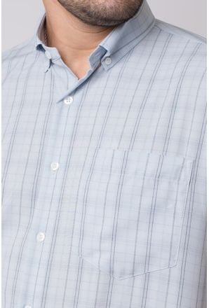 Camisa-casual-masculina-tradicional-microfibra-cinza-f07527a-3