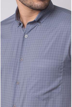 Camisa-casual-masculina-tradicional-microfibra-grafite-f07527a-3