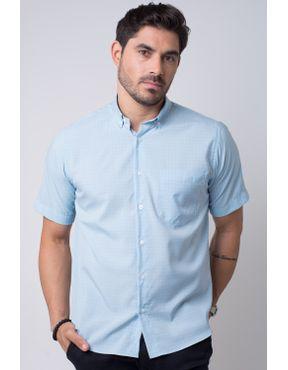 141cd73471 Camisaria Fascynios Oficial · Camisa Casual Masculina · Microfibra. Camisa  casual masculina tradicional microfibra azul f07527a 03 ...