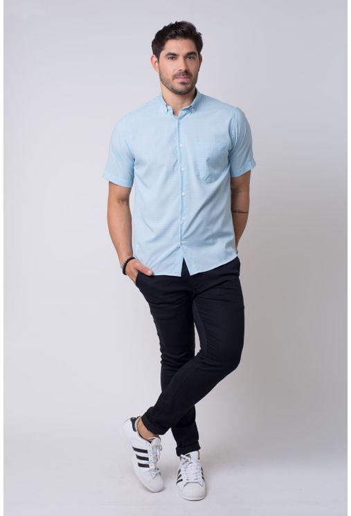 Camisa-casual-masculina-tradicional-microfibra-azul-f07527a-4