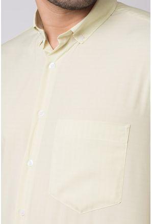 Camisa-casual-masculina-tradicional-microfibra-amarelo-f07527a-3