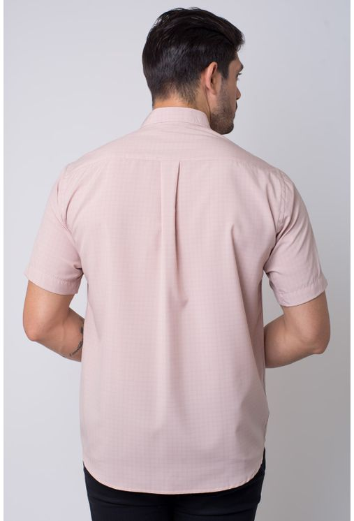 Camisa-casual-masculina-tradicional-microfibra-marrom-f07527a-2