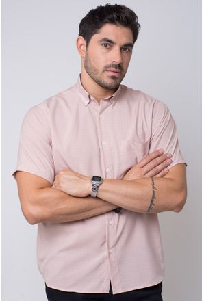 Camisa-casual-masculina-tradicional-microfibra-marrom-f07527a-1