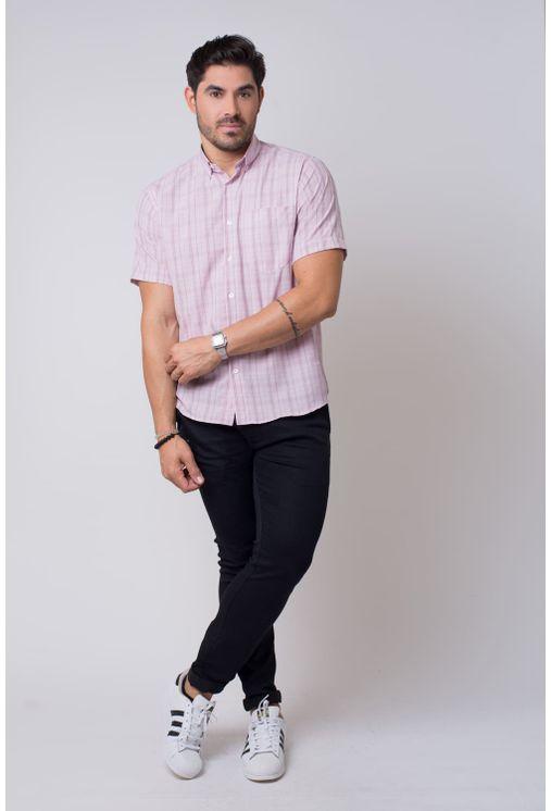Camisa-casual-masculina-tradicional-microfibra-rosa-f07527a-4