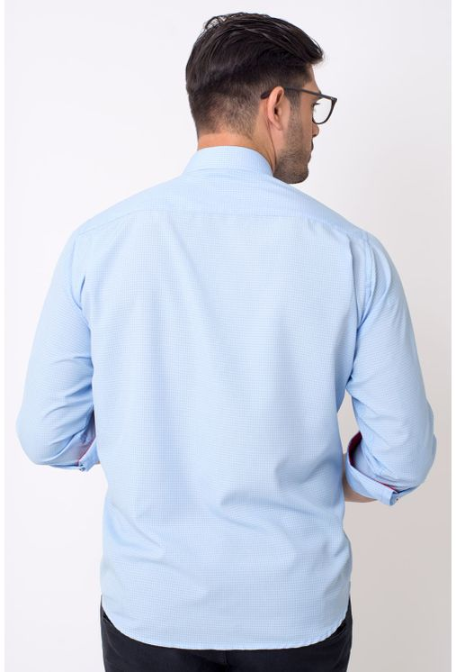 Camisa-casual-masculina-tradicional-microfibra-azul-medio-f01790a-1