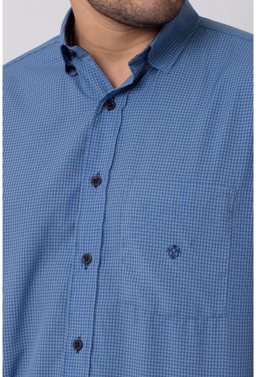 Camisa-casual-masculina-tradicional-microfibra-azul-escuro-f01790a-3