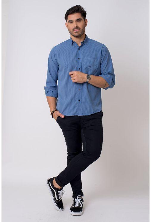 Camisa-casual-masculina-tradicional-microfibra-azul-escuro-f01790a-4