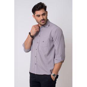 Camisa-casual-masculina-tradicional-microfibra-grafite-f01790a-1
