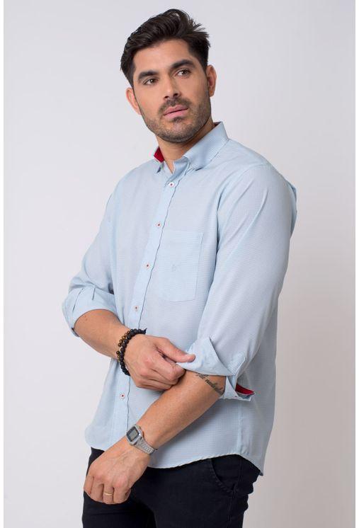 Camisa-casual-masculina-tradicional-microfibra-cinza-f01790a-1