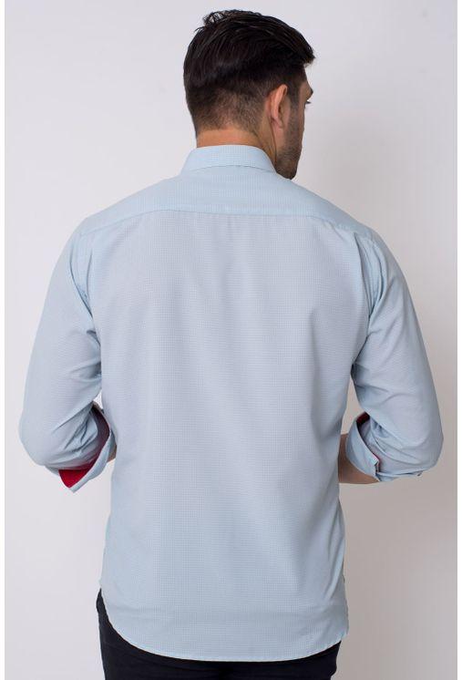 Camisa-casual-masculina-tradicional-microfibra-cinza-f01790a-2