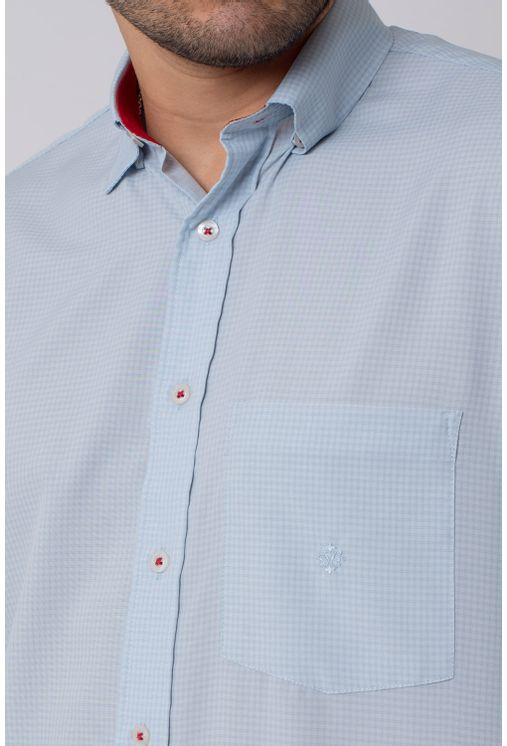 Camisa-casual-masculina-tradicional-microfibra-cinza-f01790a-3