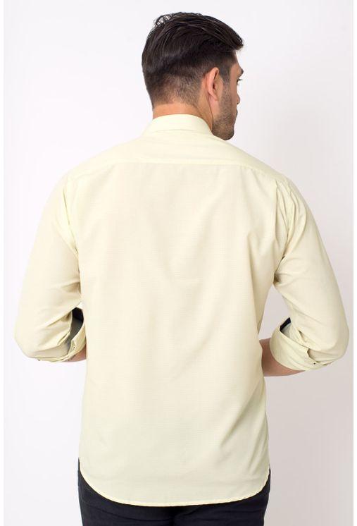 Camisa-casual-masculina-tradicional-microfibra-amarelo-f01790a-2