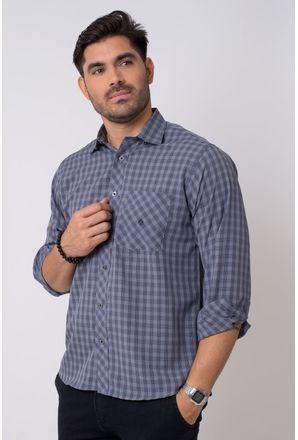 Camisa-casual-masculina-tradicional-microfibra-grafite-f01794a-1
