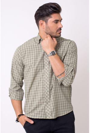 Camisa-casual-masculina-tradicional-microfibra-verde-f01794a-1