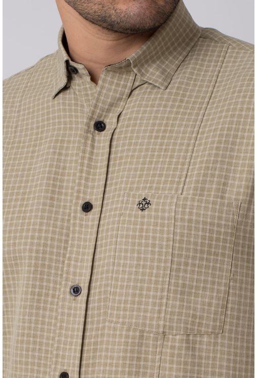 Camisa-casual-masculina-tradicional-microfibra-bege-f01798a-3