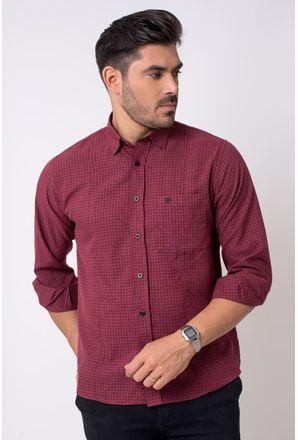 Camisa-casual-masculina-tradicional-microfibra-bordo-f01798a-1