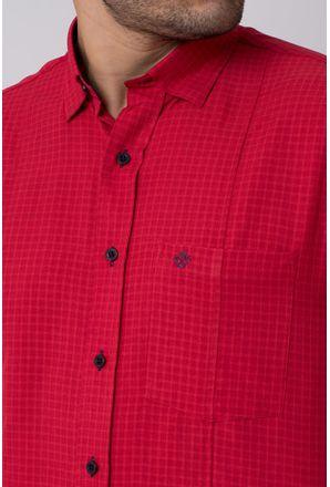 Camisa-casual-masculina-tradicional-microfibra-vermelho-f01798a-3