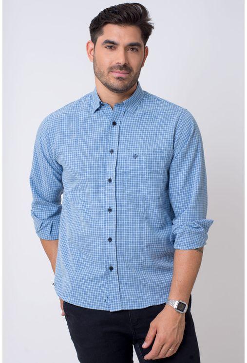 Camisa-casual-masculina-tradicional-microfibra-azul-claro-f01798a-1