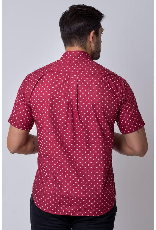 Camisa-casual-masculina-tradicional-algodao-misto-bordo-f02176a-2