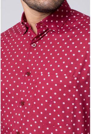 Camisa-casual-masculina-tradicional-algodao-misto-bordo-f02176a-3