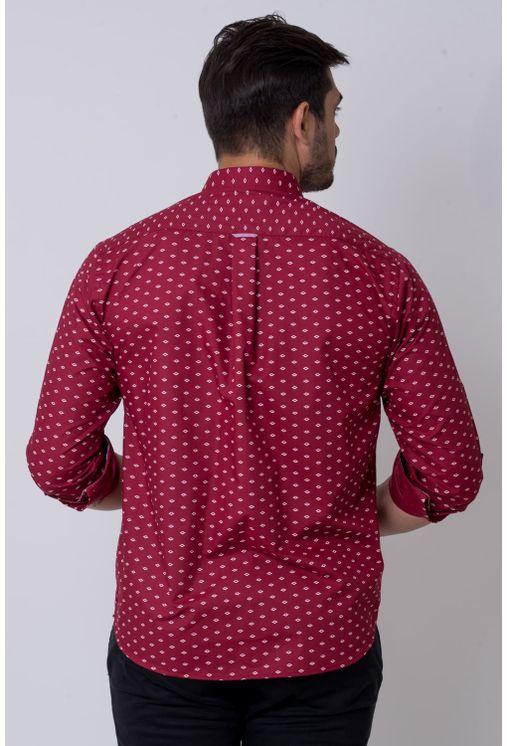 Camisa-casual-masculina-tradicional-algodao-misto-bordo-f02145a-2