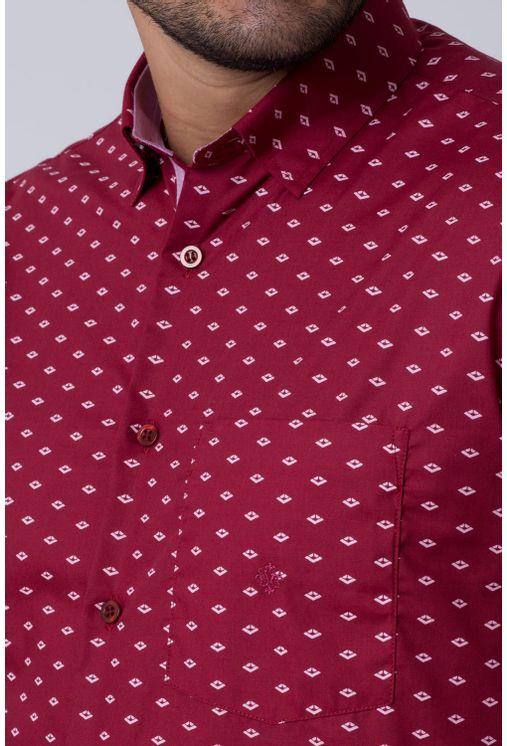 Camisa-casual-masculina-tradicional-algodao-misto-bordo-f02145a-3